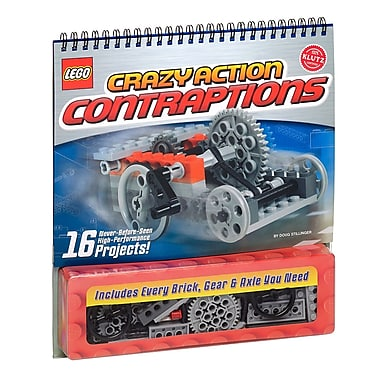 Klutz® Lego Crazy Action Contraptions, English