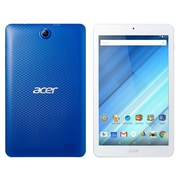 """Acer® ICONIA B NT.LC4AA.001 8"""" Tablet, 16GB, Android 5.1 Lollipop, Blue/White"""