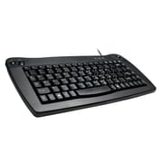 Adesso® PS/2 Mini-Trackball Keyboard, Black (ACK-5010PB)