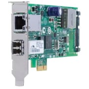 Allied Telesis™ 2911GP Series AT-2911GP/SXLC Dual Port PCI Express PoE+ Adapters