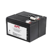 APC® Sealed Lead Acid UPS Replacement Battery Cartridge, Black (APCRBC109)