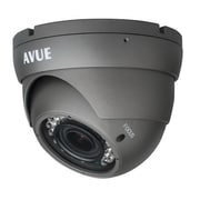 Avue® AV676PIR Wired Dome CCTV Surveillance Camera, Night Vision, Dark Gray