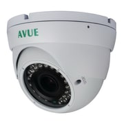 Avue® AV676PIR Wired Dome CCTV Surveillance Camera, Night Vision, White