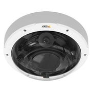 Axis Communications® P3707-PE Wired Fixed Dome Indoor/Outdoor Network Camera, White/Black