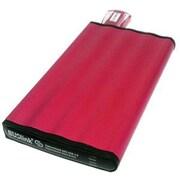 Buslink CipherShield 2TB USB 3.0/SATA Portable External Hard Drive, Red