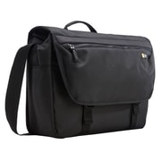 "Case Logic® Bryker Black Polyester Carrying Case (Messenger) for 15"" Notebook/MacBook Pro (BRYM114BLACK)"