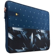 Case Logic® Hayes Blue Polyester Laptop Sleeve for 15.6 Laptop (HAYS115DARKPALM)