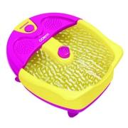 Conair® Sassy Foot Spa and Pedicure Set, Blue/Yellow (FB333)