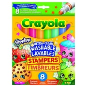 Crayola Stamper Markers, 3+ Years, 8/Pack (58-8152)