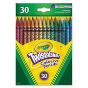 Crayola Twistable Colored Pencils, 3+ Years, 30/Pack (68-7409)
