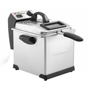 Cuisinart® 3.4 qt Digital Deep Fryer, Silver (CDF-170)