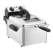 Cuisinart® 2.3 lbs. Deep Fryer, Black/Silver (CDF-200)