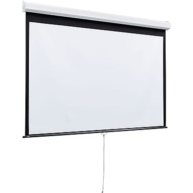 Draper® Luma 2 206010 Heavy-Duty Manual Projector Screen, 170