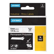 "Dymo® 1805442 1/4"" Thermal Transfer ID Label, White"
