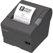 Epson® TM-T88V Monochrome Direct Thermal POS Receipt Printer, Dark Gary (C31CA85090)