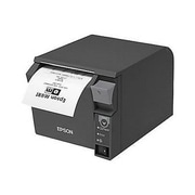 Epson® TM T70II 180 dpi Monochrome Direct Thermal POS Receipt Printer, Dark Gary (C31CD38A9991)