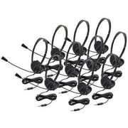 Ergoguys Califone® 3065AVT-10L Personal Multimedia Stereo Over-the-Head Headset, Black, 10/Pack