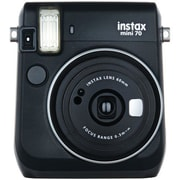 Fujifilm Instax® Mini 70 Instant Film Camera, 0.37x, 60 mm, Midnight Black