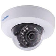 GeoVision GV-EFD2100 Wired Mini Fixed Dome Indoor Network IP Camera, Night Vision, White/Black
