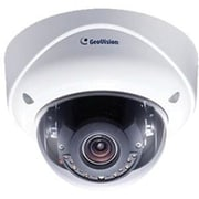 GeoVision GV-VD5700 Wired Dome Outdoor Network IP Camera, Night Vision, White/Black