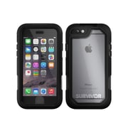 Griffin® Survivor Summit Phone Case for iPhone 6/6s, Clear/Black (GB41552)