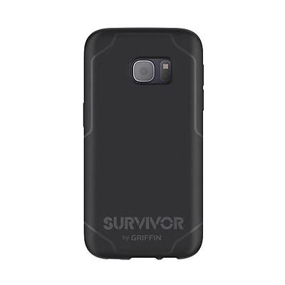Griffin Survivor Journey Phone Case for Samsung Galaxy S7, Black/Gray (GB42216)