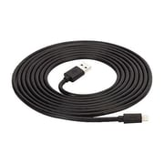 Griffin® GC36633-2 Extra-Long 10' USB to Lightning Male/Male Data Transfer Cable, Black