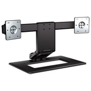 "HP® AW664AA 17"" - 24"" Adjustable Dual Display Stand"