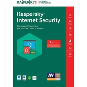 Kaspersky Internet Security Software 2017, 1 Year, Comlic+LTD Plus Maintenance Box
