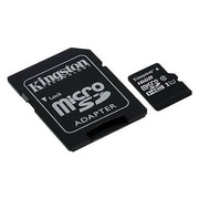 Kingston® SDC10G2 Class 10 UHS-I 16GB microSDHC Memory Card with SD Adapter