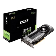 msi® NVIDIA GeForce GTX 1080 Founders Edition GDDR5X PCI Express 3.0 x16 8GB Graphic Card