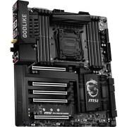 msi® Socket LGA 2011-3 Extended ATX Motherboard (X99A Godlike Gaming Carbon)
