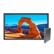 "NEC V323-2-PC2 Commercial-Grade 32"" LED LCD Display with Integrated OPS PC, Black"