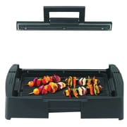 Nesco® Grill with Glass Lid, Black (GRG-1000)