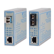 Omnitron FlexPoint  4706-0 GX/T 10/100/1000 Copper to 100/1000X Fiber Ethernet Media Converter