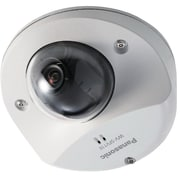 Panasonic® WV-SFN110 Super Dynamic Wired Fixed Dome Network Camera, Night Vision, Sail White