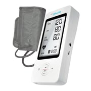 Pyle® Bluetooth Wireless Blood Pressure Monitor with Arm Cuff, White (PHBPB16TL)
