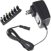 RCA AH50BF Universal AC to DC Adapter, Black