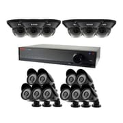 REVO® Lite 1080p 16 Channel DVR with 6 Dome/10 Bullet Cameras, 2TB HDD (RL161HD6GB10G-2T)