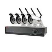 REVO® Lite 4 Channel DVR with 1 Dome/4 Bullet Cameras, 500GB HDD (R49D1JB3J-5G)