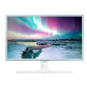 """Samsung LS24E370DL/ZA 23.6"""" LED Monitor, White"""