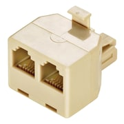 STEREN® 300-024 Ivory 2-Way Phone Adapter