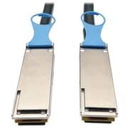 Tripp Lite N282 Black 2 m QSFP28 Male/Male 100GbE Passive DAC Cable for QSFP-100G-CU2M Module