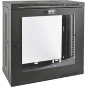 Tripp Lite SRW12U13G Black SmartRack Wall-Mount 12U Rack Enclosure Cabinet for LAN Switch/Patch Panel