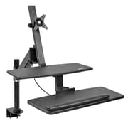 "Tripp Lite WorkWise WWSS1327CP 13"" - 27"" Single-Monitor Standing Desk-Clamp Workstation"
