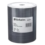 Verbatim® DataLifePlus® 97018 700MB CD-R Thermal Printable Recordable Media, Wrap, 100/Pack