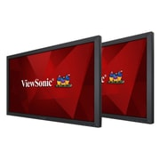 "ViewSonic® VA2452SM_H2 24"" LED LCD Monitor, Black"