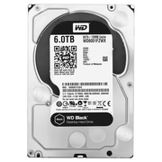 WD® Black  WD6001FZWX 6TB SATA 6 Gbps Internal Performance Hard Drive, Silver