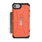 Urban Armor Gear Trooper Card Case for iPhone 7/6s/6, Rust (IPH7/6S-T)