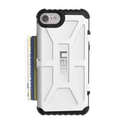 Urban Armor Gear Trooper Card Case for iPhone 7/6s/6, White (IPH7/6S-T)
